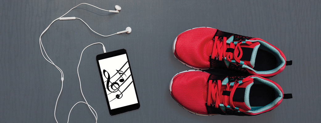 Research based benefits of music for walking