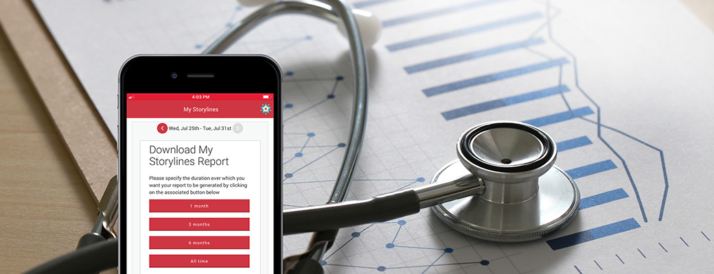 Access your Personal Health Report using the My MedicAlert app