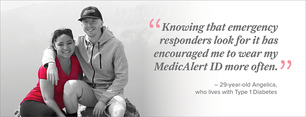 An athlete's trust in MedicAlert grows when she discovers it's a medical go-to for emergency responders.