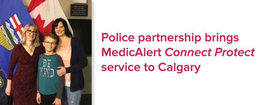 Service gives police quick and secure access to a registered MedicAlert subscriber's information