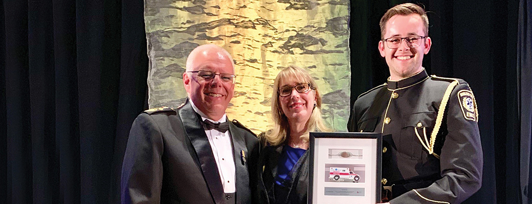 MedicAlert honours paramedic for helping to bring senior safely home