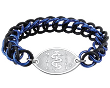 Urban Links Bracelet - Blue