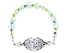 Green Sweetheart Bracelet