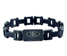 Bicycle Chain Bracelet – Black