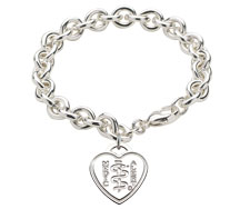 Chelsea Bracelet with Heart Medallion