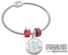 Peanuts© by Persona® Sterling Silver Snoopy Classic