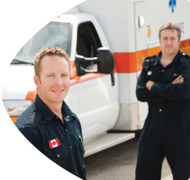 Paramedics, emergency responders and emergency healthcare personnel call us