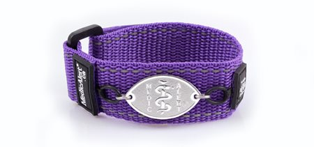 Purple Sport Band
